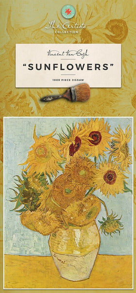 Sunflowers by Vincent van Gogh Jigsaw Puzzle 1000 piece Sunflowers by Vincent van Gogh Jigsaw Puzzle 1000 piece
