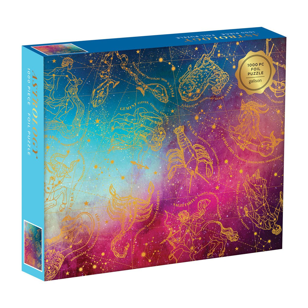 Astrology 1000 Piece Foil Jigsaw Puzzle