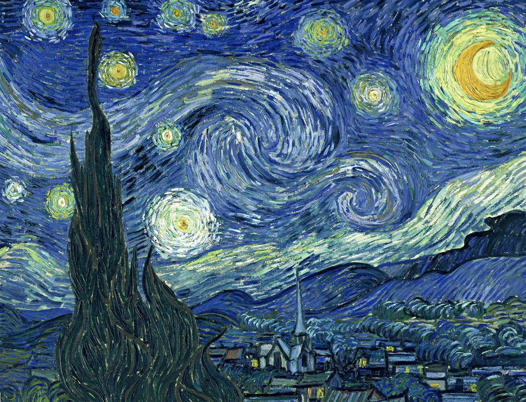 Starry Night by Vincent van Gogh Jigsaw Puzzle – 1000 piece