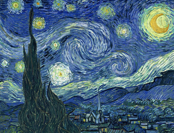 Starry Night by Vincent van Gogh Jigsaw Puzzle – 1000 piece Starry Night by Vincent van Gogh Jigsaw Puzzle – 1000 piece
