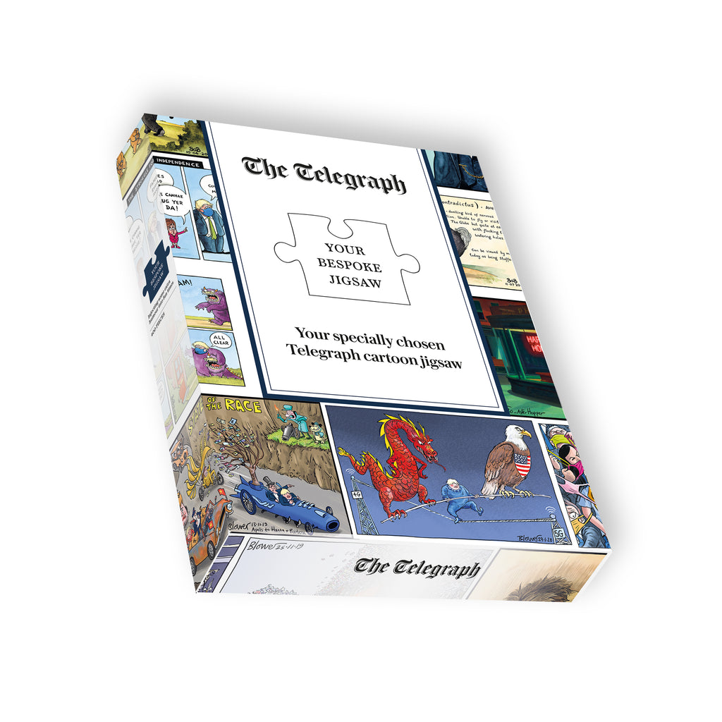 The Telegraph Political Cartoon Jigsaw Puzzle 400 Pieces