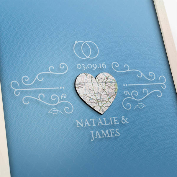Drop Box - Personalised Wedding Guest Drop Box Personalised Wedding Guest Drop Box