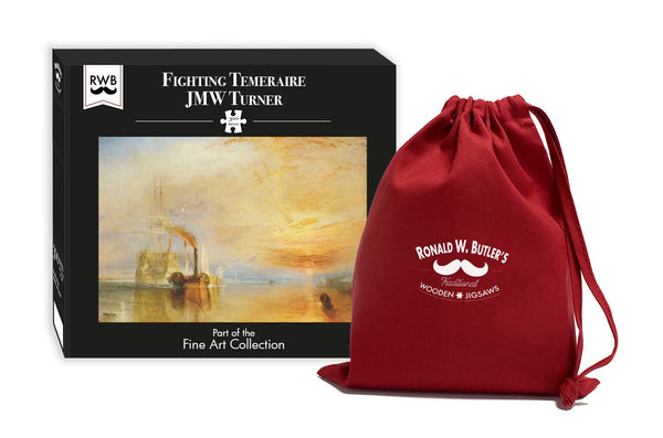 Fighting Temeraire - JMW Turner - 300 Piece Wooden Jigsaw Puzzle