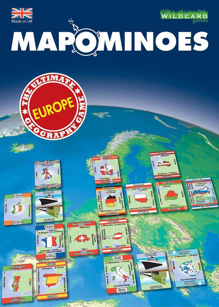 Games - MAPOMINOES EUROPE- The Ultimate Geography Game