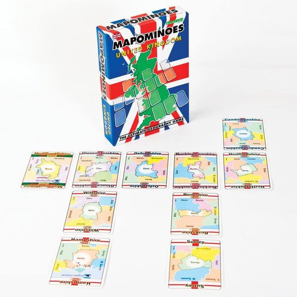 Games - MAPOMINOES UK - The Ultimate Geography Game