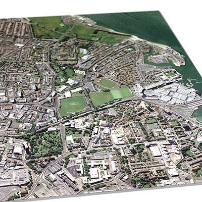 Get Mapping - A3 Aerial Print Of Your Home