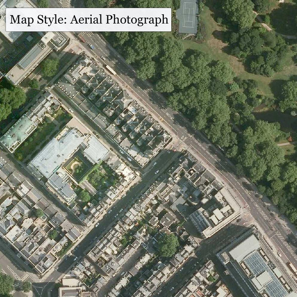 Get Mapping - Aerial Photo, Centred On Your Home (2 Foot Square)