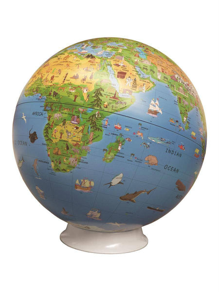 Globe - Activity Discovery Globe & Key Card - Children's Globe