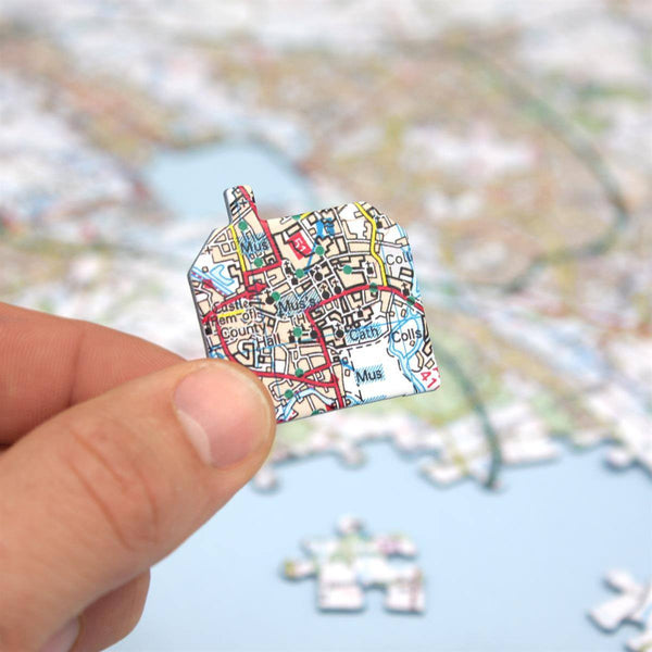 Jigsaw Puzzle - Customised Map Jigsaw Puzzle