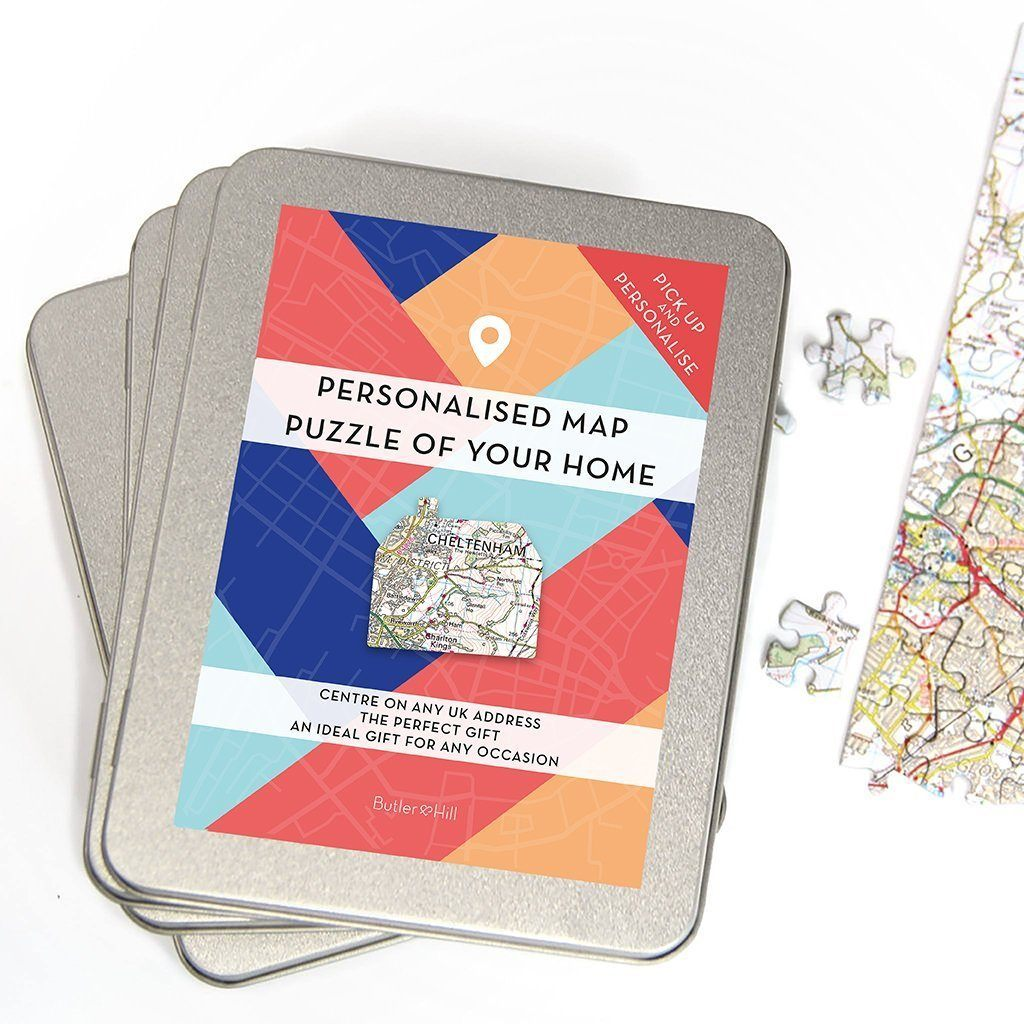 Jigsaw Puzzle - Our Home Map Jigsaw Gift Box