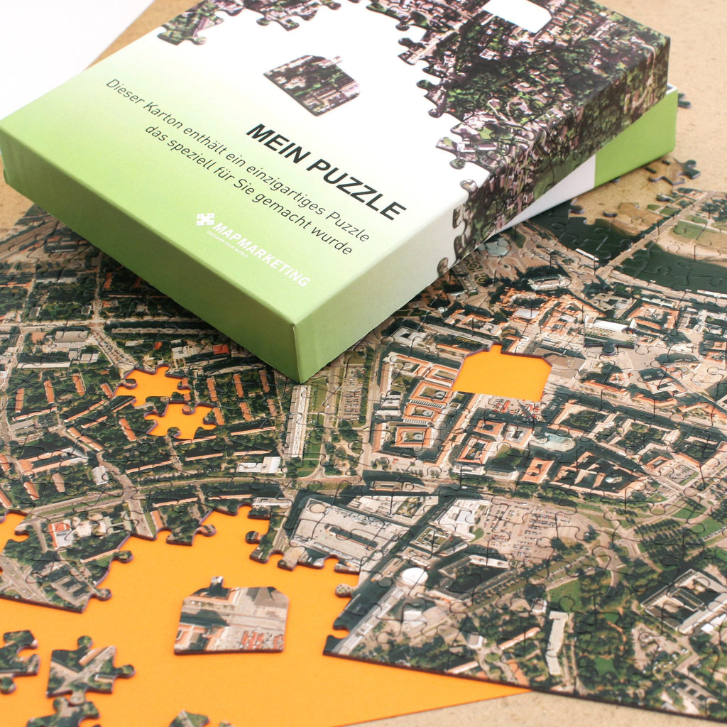 Jigsaw Puzzle - Personalised German Aerial Photo Jigsaw Puzzle