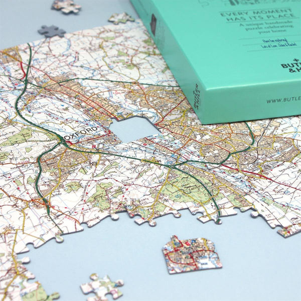Jigsaw Puzzle - Personalised Landranger Map Jigsaw Puzzles Personalised Landranger Map Jigsaw Puzzles