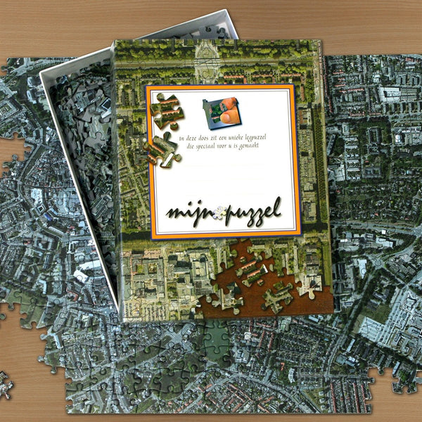 Jigsaw Puzzle - Personalised Netherlands Aerial Photo Jigsaw Puzzle Personalised Netherlands Aerial Photo Jigsaw Puzzle