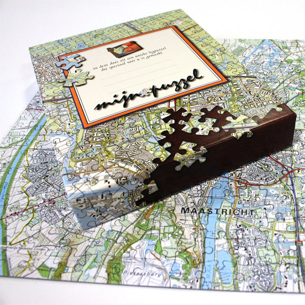 Jigsaw Puzzle - Personalised Netherlands Map Jigsaw Puzzle