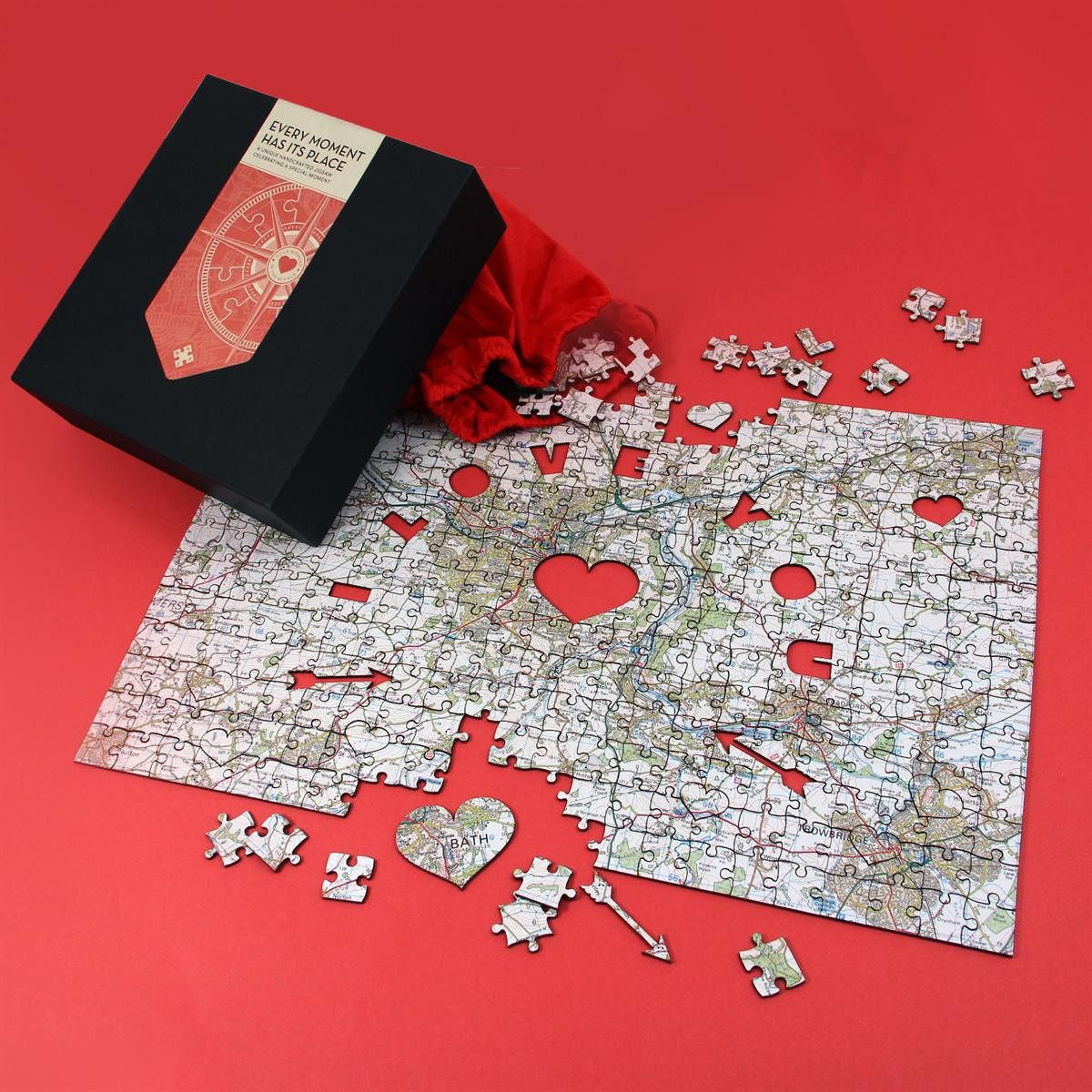 Personalised Special Places Wooden Jigsaw Puzzle