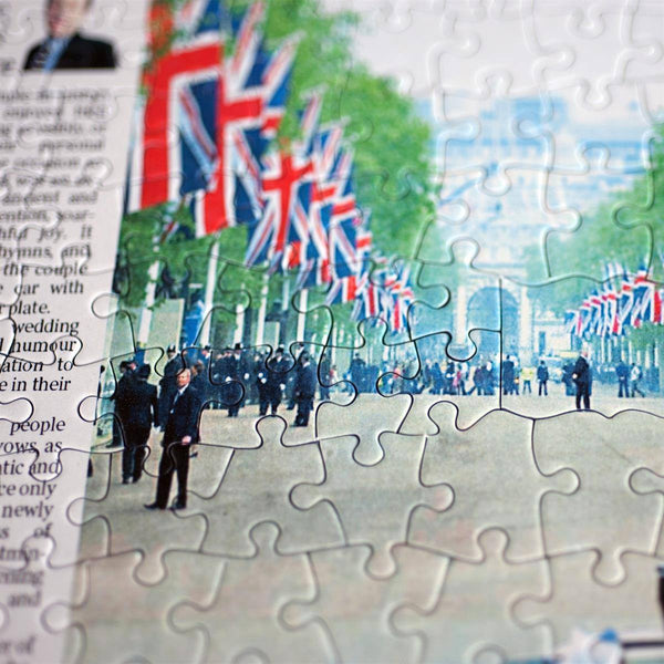Jigsaw Puzzle - Personalised Times Front Page Jigsaw Puzzle Times Newspaper Front Page Jigsaw Puzzle