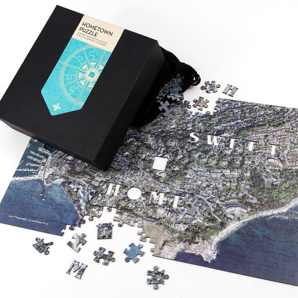 Jigsaw Puzzle - Personalised Wooden Hometown Jigsaw Puzzle