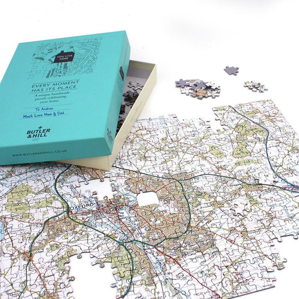 Jigsaw Puzzle - Redeem Your Map Jigsaw Puzzle Gift Box Here.