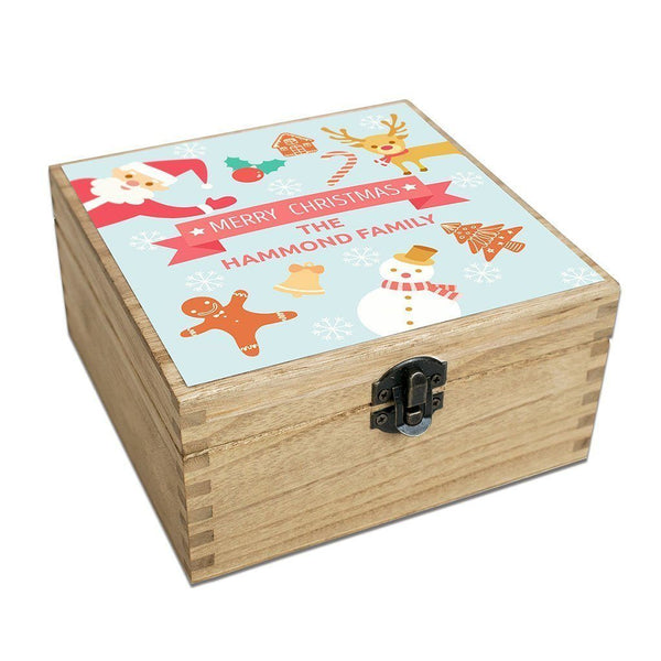 Keepsake Boxes - Christmas Keepsake Box - Personalised