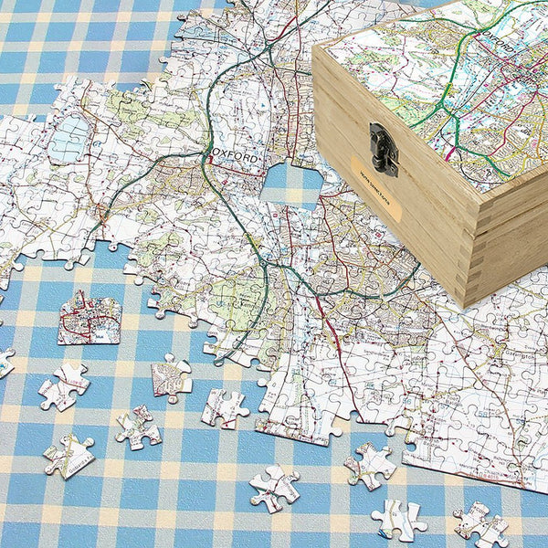 Map Gift - Personalised Map Gift Set