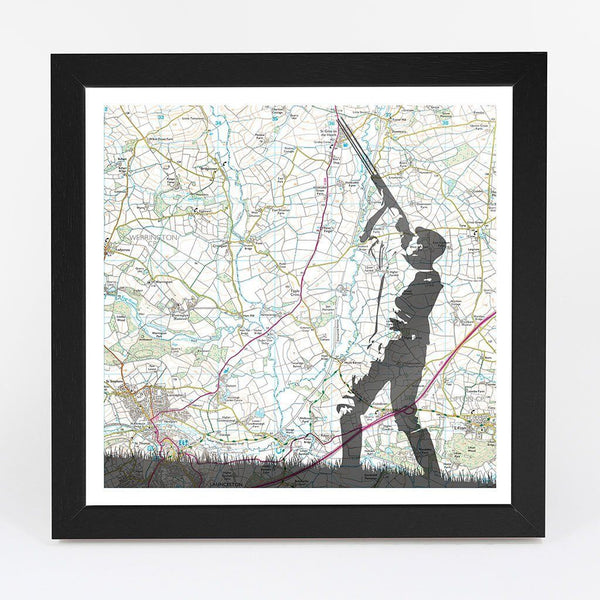 Map Gift - Personalised Shooting Adventure Map