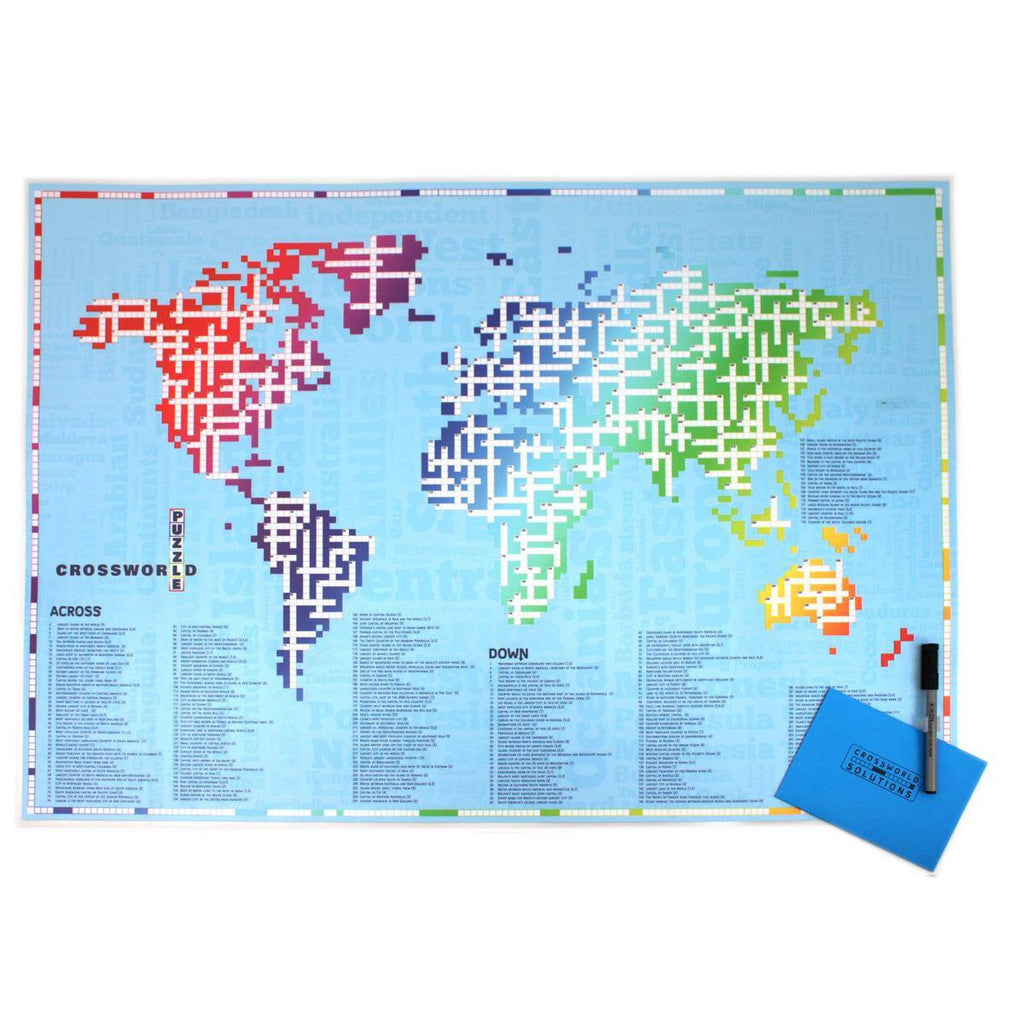 The cross word world map crossworld butler and hill uk map gift the cross word world map crossworld gumiabroncs Images