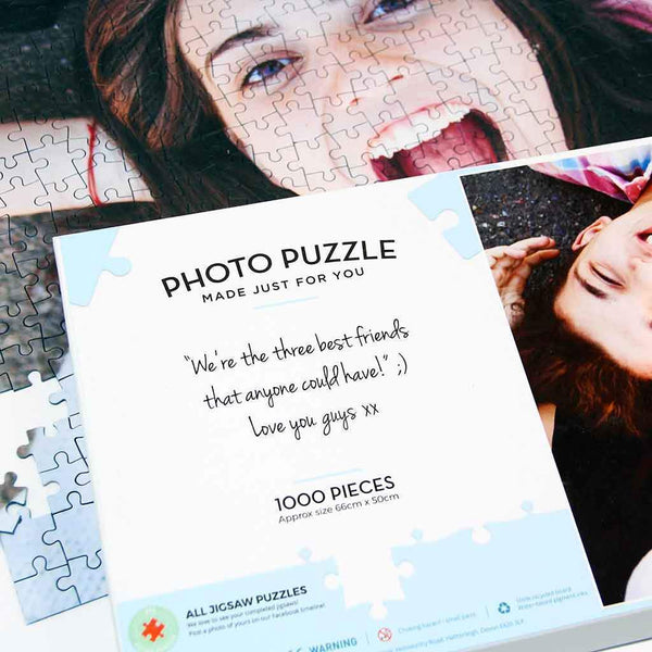 Personalised Jigsaw - Personalised 1000 Piece Photo Jigsaw Personalised 1000 Piece Photo Jigsaw Puzzle