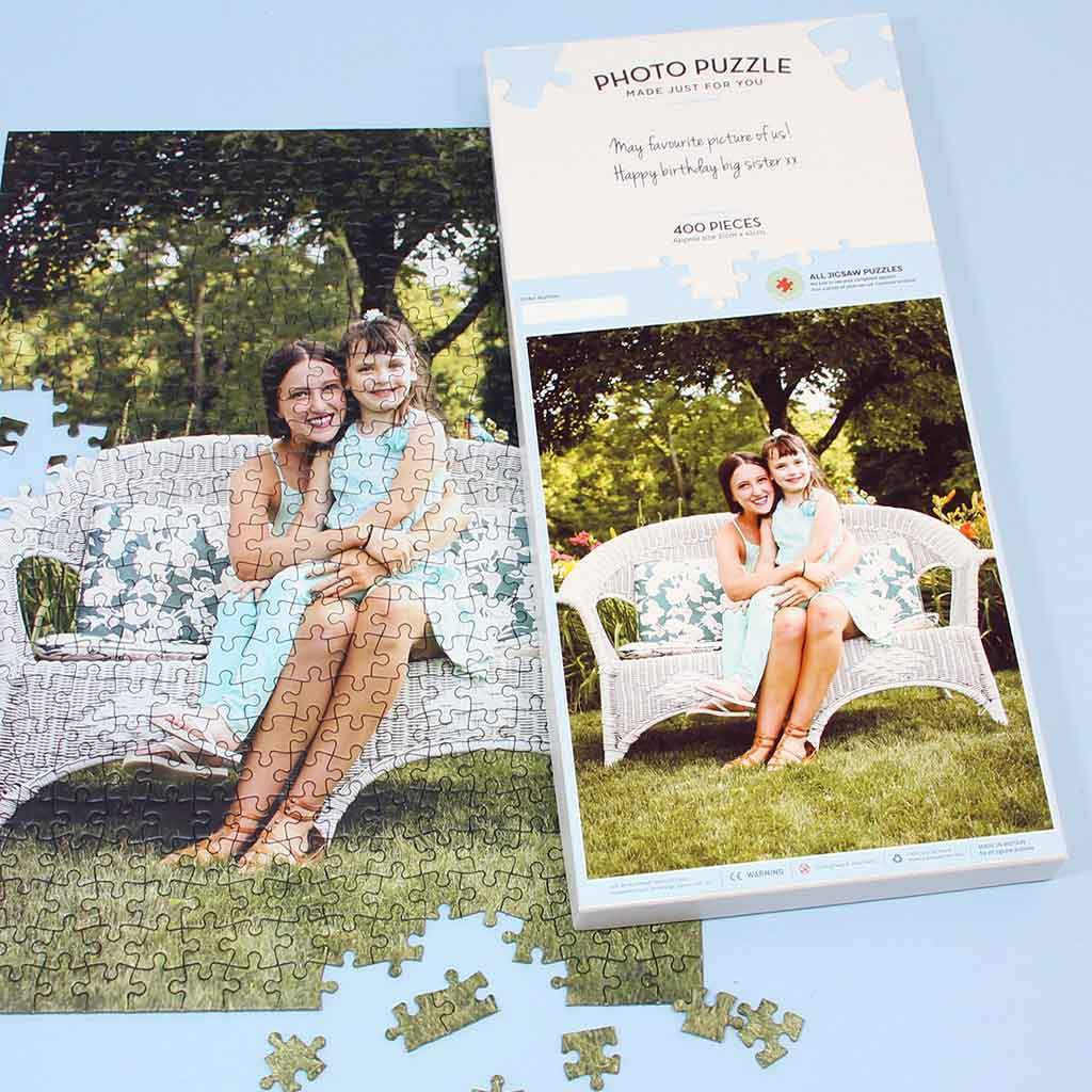 Image of Personalised 400 Piece Photo Jigsaw Puzzle