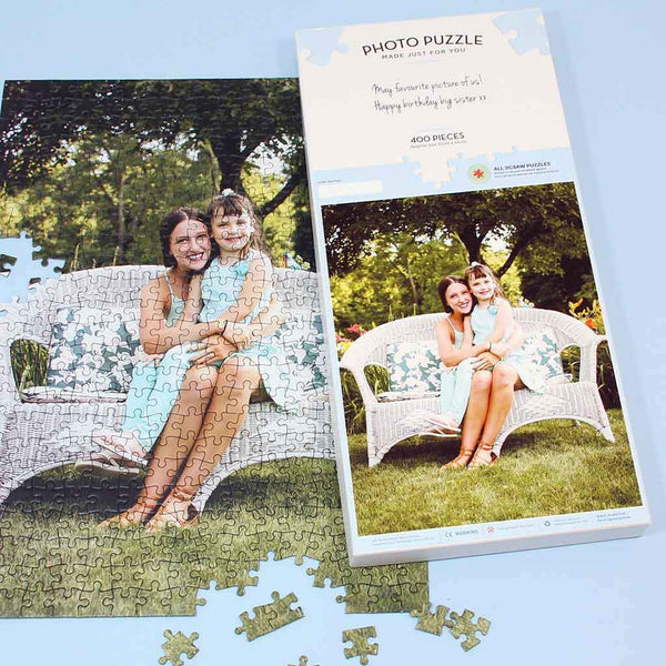Personalised Jigsaw - Personalised 400 Piece Photo Jigsaw