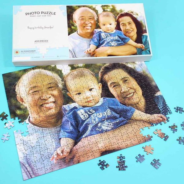 Personalised Jigsaw - Personalised 400 Piece Photo Jigsaw Personalised 400 Piece Photo Jigsaw Puzzle