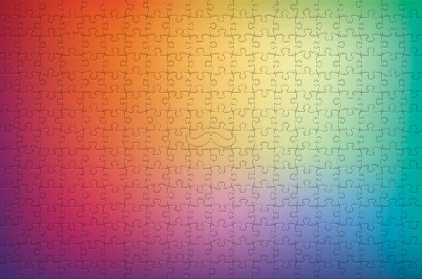 Blurry Rainbow - Impuzzible - 300 Piece Wooden Jigsaw Puzzle Blurry Rainbow - Impuzzible - 300 Piece Wooden Jigsaw Puzzle