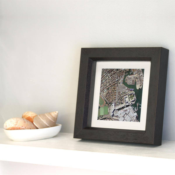 Wall Art - Personalised Box Framed Map Square