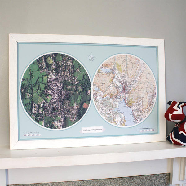 Wall Map - Aero-Carto Framed Wall Map Aero-Carto Framed Wall Map
