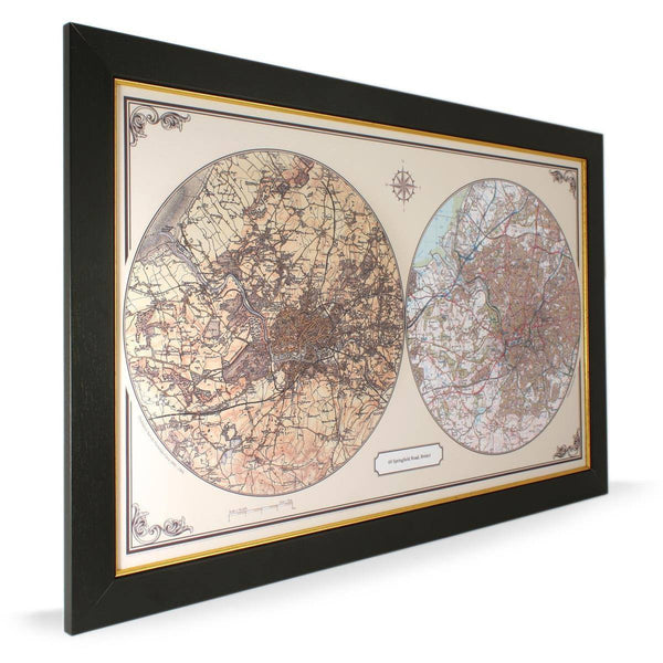 Wall Map - Duo Century Wall Map
