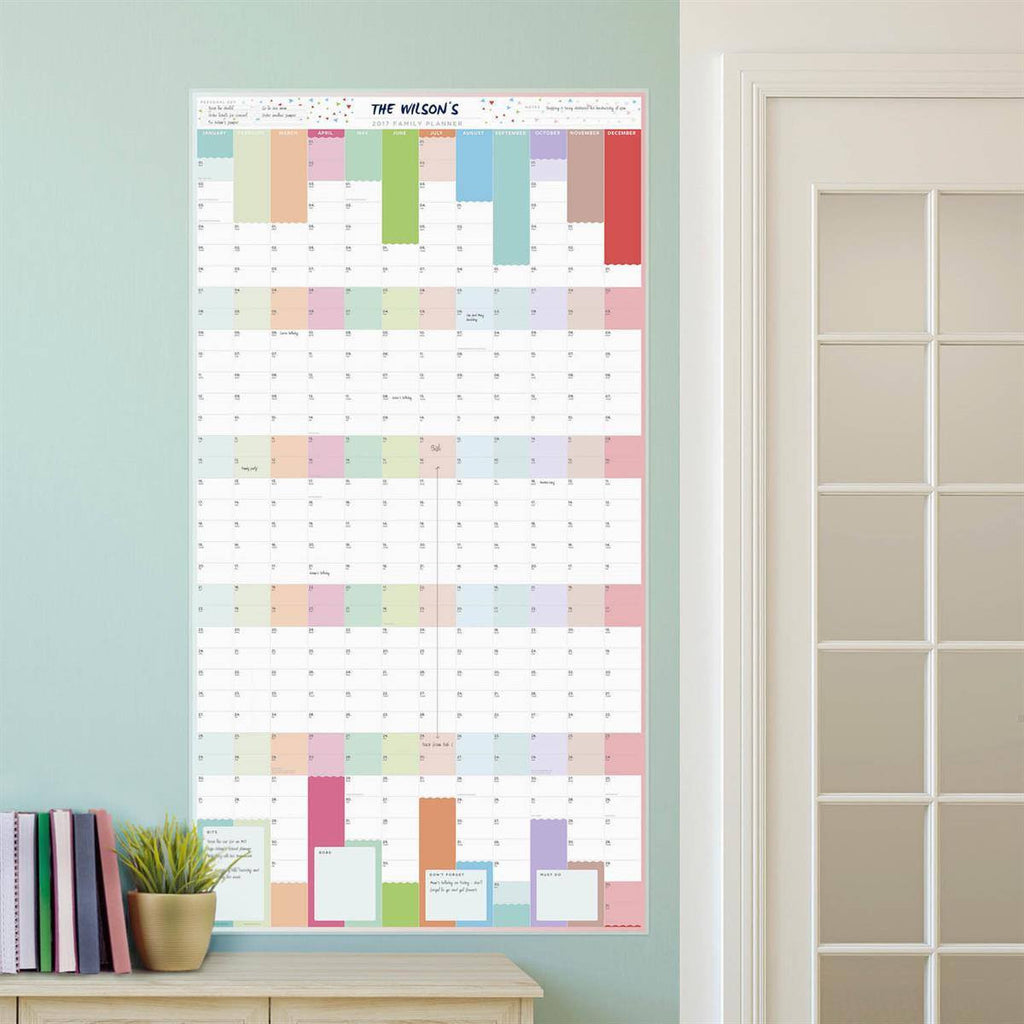 Family Year Wall Planners
