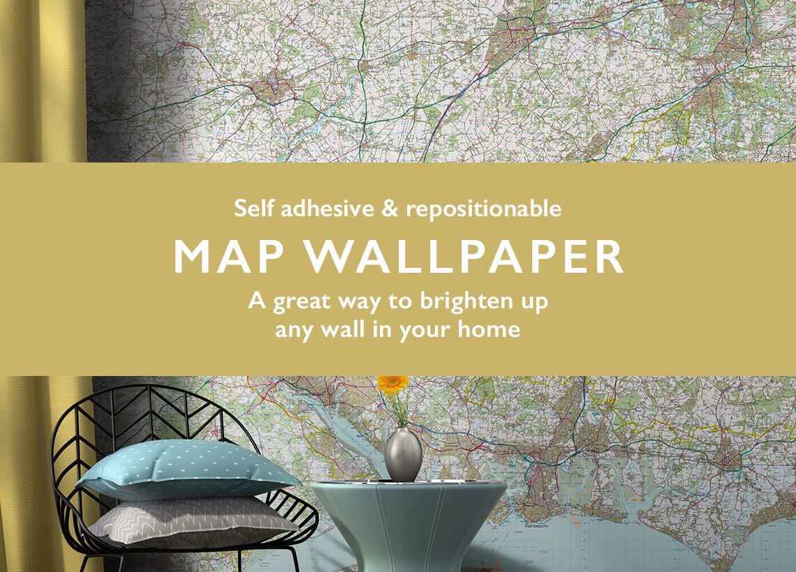 map wallpaper