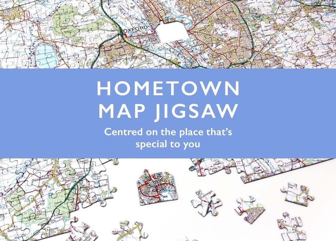 Map Jigsaw Puzzles