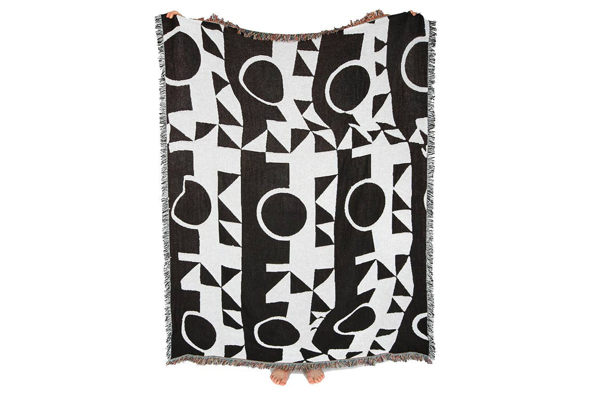 """Hopkins"" blanket by Matthew Korbel-Bowers for Slowdown studio"