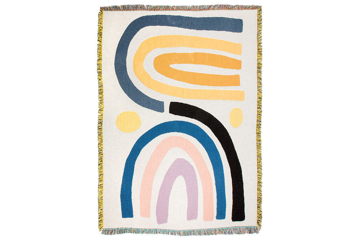 """Perry"" blanket by Claire Ritchie for Slowdown studio"