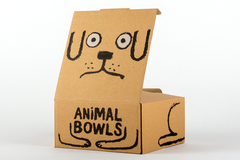 Cat bowl by Jean Jullien