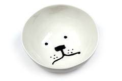 Dog bowl by Jean Jullien
