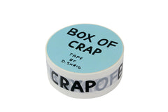 "Adhesive tape ""Box of crap"" by David Shrigley"