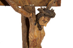 Rural Christ on the cross
