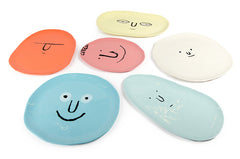 Face plates set by Jean Jullien