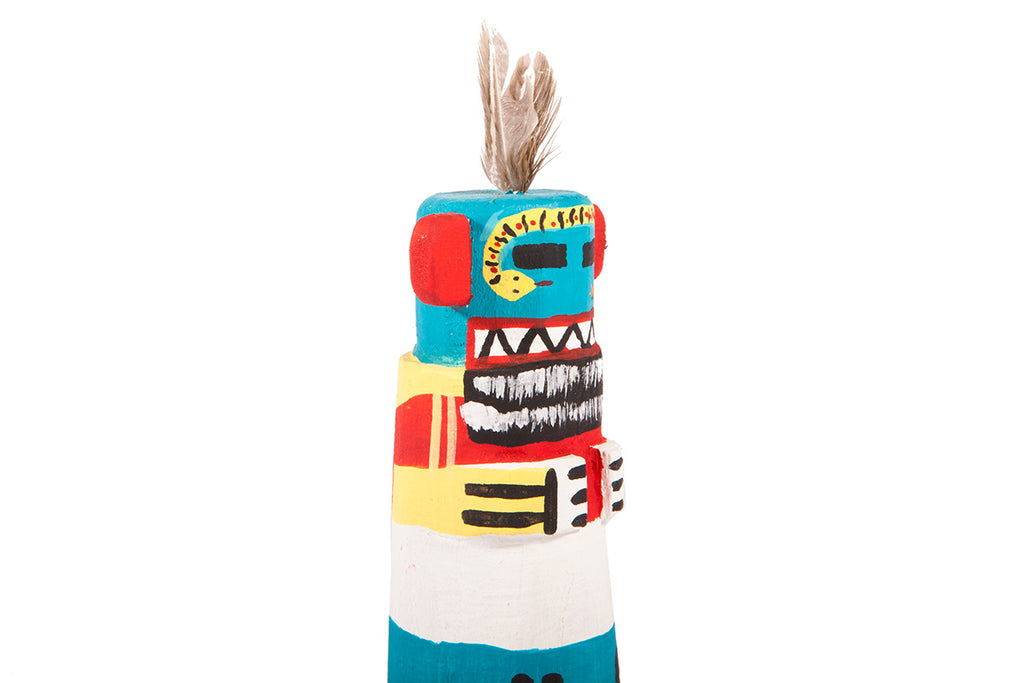 Snake guard - Hopi (native american) Kachina doll