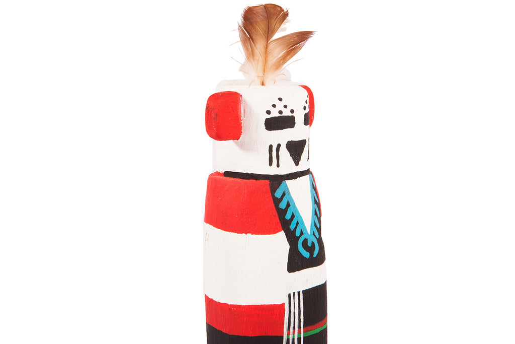 Snow maiden - Hopi (native american) Kachina doll