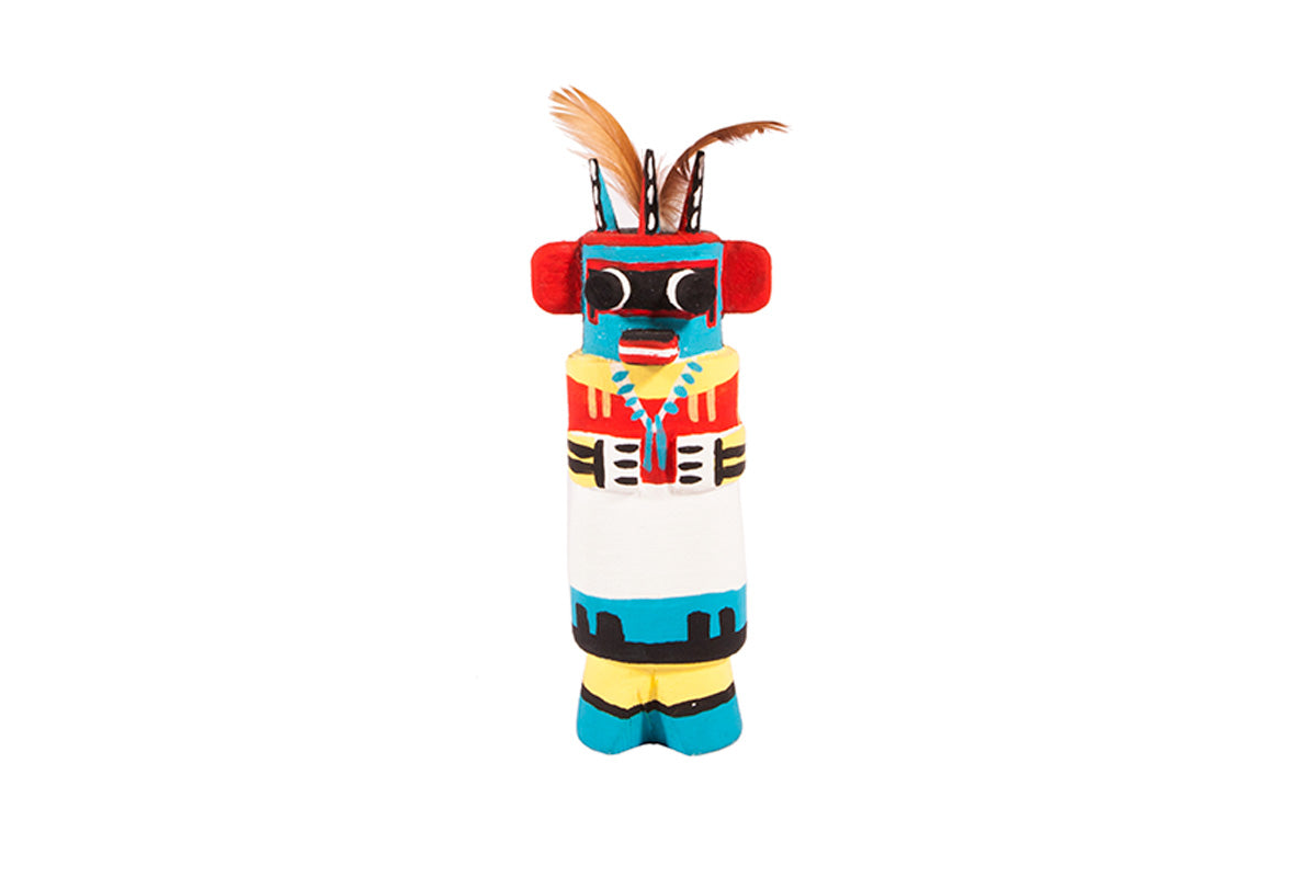 Three horn warrior - Hopi (native american) Kachina doll