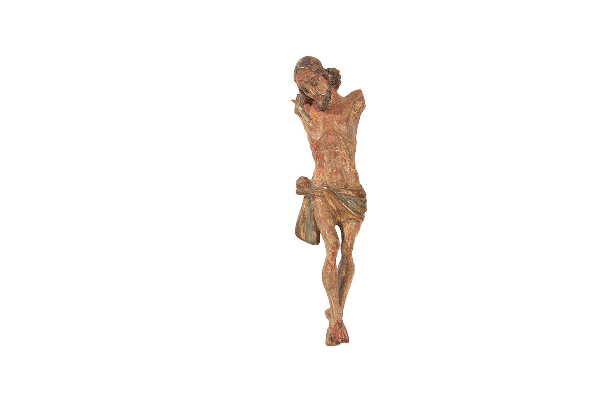 Wooden sculpted Christ