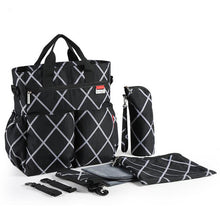 Multifunctional Baby Care Diaper Bags Waterproof with Changing mat stroller bags