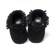 Suede Leather Newborn Baby Boy/Girl Baby Moccasins Soft Moccs Shoes Bebe Fringe Soft Soled Non-slip Footwear Crib Shoes